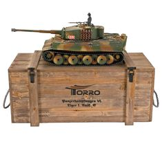 RC Tank Tiger 1 mid production Metal-Version with BB-Airsoft and barrel recoil system PRO-Edition GHz Torro incl. Rc Tank, Rc Crawler, Battle Tank, Ww2 Tanks, Military Vehicles, Rc Vehicles, Panzer, Airsoft, Hobbies