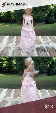 Handmade Barbie Formal. Fits vintage Barbie Handmade Barbie Formal. Fits vintage Barbie Barbie Other