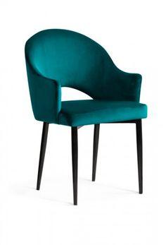 #homedecor #interiordesign #decoration #design #chair #livingroom Dining Chairs, Dining Room, Velvet, Interior Design, Retro, Furniture, Home Decor, Judith, Metal