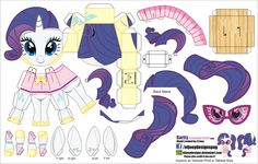 Rarity Camping outfit (Joinys 014B) by ELJOEYDESIGNS.deviantart.com on @DeviantArt