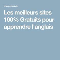 Les meilleurs sites 100% Gratuits pour apprendre l'anglais