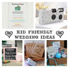 Kid Friendly Wedding Ideas! I love all these ideas and printables! Kids happy = parents happy!