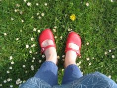 Parable of the Red Shoes--re being in RS but feeling like you don't fit the mold