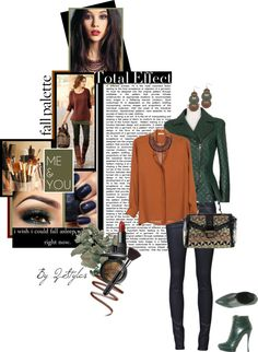 """""""My Fall Palette"""" by q-styles ❤ liked on Polyvore"""
