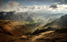 Langdale Valley by ~Mohain on deviantART