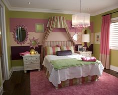 Little Girl Bedroom Painting Ideas Design, Pictures, Remodel, Decor and Ideas