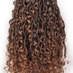 Curly Faux Locs Crochet, Crochet Braids, Best Crochet Hair, Crochet Hair Styles, Faux Locs Hairstyles, Goddess Hairstyles, Curly Hair Styles, Natural Hair Styles, Goddess Locs