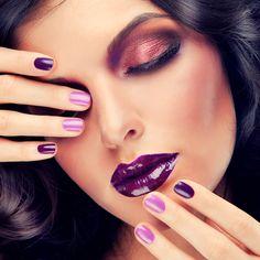Nails Inspiration | Purple Nail Designs | http://nailsinspiration.com