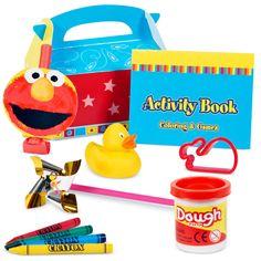 elmo's party favor box Case of 10 1st Birthday Parties, 3rd Birthday, Kid Parties, Birthday Stuff, Birthday Ideas, Happy Birthday, Elmo Decorations, Sesame Street Party, Elmo Party