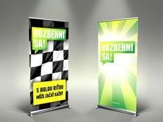 Rozbehni sa! rozbehnisa.sk #print #rollup