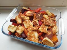 Halloumi, Kung Pao Chicken, Cooking Time, Potato Salad, Food And Drink, Ethnic Recipes, Easy, Foods, Food Food