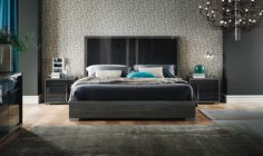 Minerva Bed Eco Gray - Casa Modern Furniture