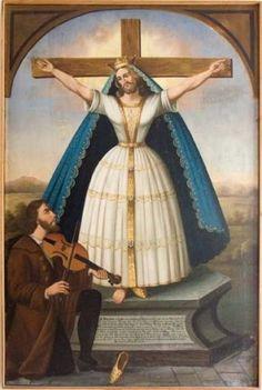 saint wilgefortis -
