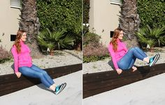 2. Seated Crunch http://www.womenshealthmag.com/fitness/outdoor-abs-workout/slide/2