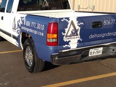 52700bb672 Vehicle wrap. Blue carbon fiber. Delta Signs and Designs Lubbock. Vehicle  Wraps