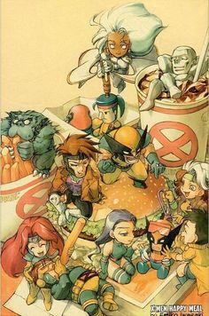 Cute - X-Men