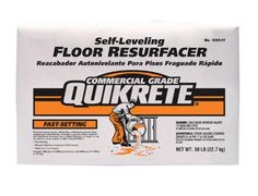 Highlights: 50 pound bag Self-finishing interior floor topping and underlayment Specially formulated to produce a smooth surface Ready for the installation of ceramic tile, resilient flooring or other finishes Use for: resurfacing existing concrete floors with damage finishes and over new concrete floors and pre-cast slabs with unacceptable finishes. Cancer and Reproductive Harm - www.P65Warnings.ca.gov. Self Leveling Floor, Mercer House, Concrete Resurfacing, Shed Floor, Concrete Slab, Building A Shed, Fix You, Home Repair, Brand Names