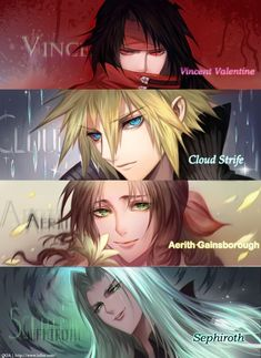 Tagged with anime, games, final fantasy, final fantasy vii, final fantasy Shared by MoonRiverFrost. Final Fantasy Vii Remake, Artwork Final Fantasy, Final Fantasy Cloud, Final Fantasy Characters, Fantasy Series, Final Fantasy Collection, Vincent Valentine, Me Anime, Another Anime