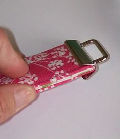 Key Fob Tutorial - PURSES, BAGS, WALLETS