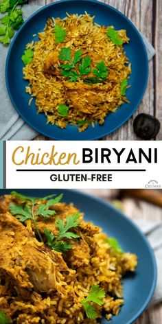 Chicken Biryani is a famous South Asian dish and the perfect dinner recipe to make, as it is full of flavor. In this chicken recipe, you will find all the best spices and herbs combined. Bring the South Asian cuisine to your dinner table tonight, and you won't regret it. This chicken recipe might end up becoming your next favorite dinner recipe. Healthy Shredded Chicken Recipes, Asian Chicken Recipes, Dinner Party Recipes, Gluten Free Recipes For Dinner, Biryani Recipe, Gluten Free Chicken, Amazing Recipes, Dinner Table, Indian Food Recipes