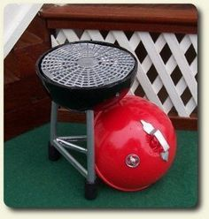 How to make a fishing bobber into a mini grill - Tutorial