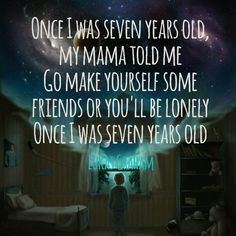 5-a song that should never be elevator music- Seven Years Old by Luke Graham- if this was ever used as elevator music i would probably start crying in the elevator and no one would have any idea why but it's so sad and gah! Just never use it as elevator music people. It's too sad.