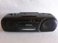 Vintage Panasonic Portable Stereo Radio Cassette Recorder Boombox RS-FS430 Works