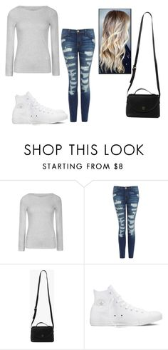 """""""Untitled #1765"""" by hannahmcpherson12 ❤ liked on Polyvore featuring Ally Fashion, Current/Elliott, Azalea and Converse"""