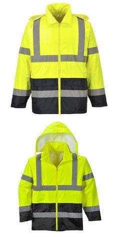 Coats & Jackets Friendly Portwest Hi Vis Bomber Jacket High Visibility Waterproof Coat Jacket Viz Xs-5xl Customers First