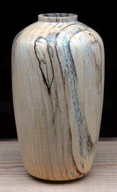 Stephen Sanders |  'Spalted Hackberry Hollow Form'