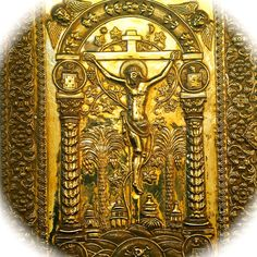 This is the cover of the 1272 Gospel of Queen Keran. Sis, Cilician Armenia.