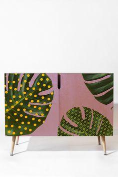Natt Leaves n1 Credenza | DENY Designs Home Accessories