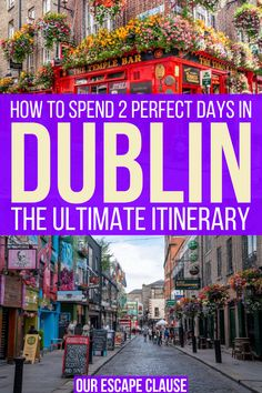 The Complete 2 Days in Dublin Itinerary Planning to spend 2 days in Dublin? This 2 day Dublin itinerary will show you the best things to do in Ireland's capital--whether you're planning a simple weekend in Dublin or a full Ireland trip. Ireland Beach, Ireland Vacation, Dublin Ireland, Dublin Pubs, Dublin Library, Dublin Nightlife, Dublin Restaurants, Dublin Hotels, Dublin Street