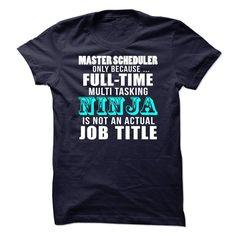 Master Scheduler T-Shirts, Hoodies. Check Price Now ==► https://www.sunfrog.com/LifeStyle/Master-Scheduler-69834688-Guys.html?id=41382