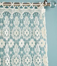 Tier Curtains Macrame Medallion Tier Curtains - Country Curtains®