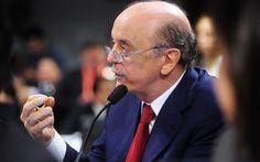 Senador José Serra (PSDB-SP) recebeu enxurrada de críticas após publicação no Facebook