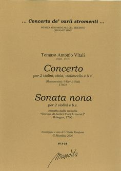 Concerto (Manuscript. I-Rav, I-Baf) e Sonata nona