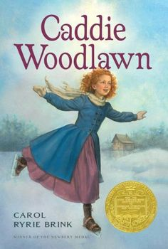 "A wonderful story. ""Caddie Woodlawn is a real adventurer. She'd rather hunt than sew and plow than bake, and tries to beat her brother's dares every chance she gets. Caddie is friends with Indians, who scare most of the neighbors -- neighbors who, like her mother and sisters, don't understand her at all.  Caddie is brave, and her story is special because it's based on the life and memories of Carol Ryrie Brink's grandmother, the real Caddie Woodlawn. Her spirit and sense of fun have made…"