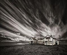 500px / Photo Old Hospital (mono) by Þorsteinn H Ingibergsson