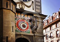 Clock tower in Bern, detail Switzerland Tour, Berne, Swiss Travel, Tower, Florida, Clock, Stock Photos, Detail, Building