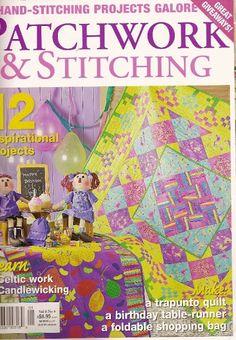 patchwork and stitching vol8 n4 - compartilha tudo - Álbumes web de Picasa