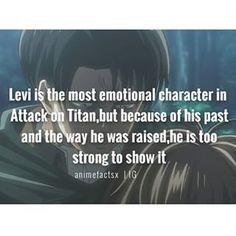 Character : Levi Ackerman Anime : Attack on Titan