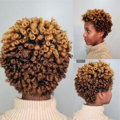Color Bursts   Hair by Emma #pravana #rodset #naturalhair #flexirodset