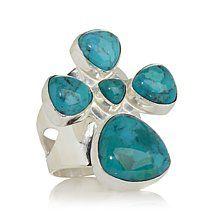 Jay King Iron Mountain 5-Stone Turquoise Ring