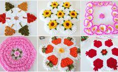 Sevilay Uysal'ın Şahane Lif Örgü Modelleri Elsa, Crochet Necklace, Blanket, Sewing, Knitting, Youtube, Fiber, Templates, Fabric Samples
