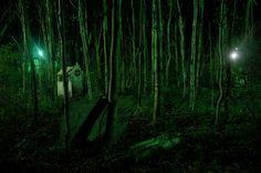 Jacko en Sara waren op zoek naar de vampier.Ze dachten dat de nachtwaker de vampier was.