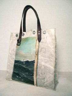 Image of Painting Bag - Sea (free shipping)