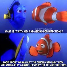 Dory and Marlin