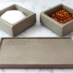 Culinarium  Bold Concrete Kitchen Accessories