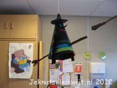 Halloween knutsel heks.